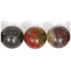 Semi-Precious 10mm Round Fancy Agate